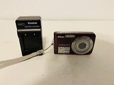 Nikon COOLPIX S210 8.0MP Digital Camera  Plum