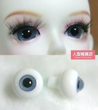 12mm  For BJD DOD AOD MK OK RD Doll Dollfie Glass Eyes Outfit ling blue 13