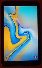 Samsung Galaxy Tab A 8.0 32GB Black Verizon SM-T387V & Rugged Kickstand Case