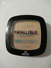 LOREAL INFALLIBLE Pro Glow Longwear Pressed Powder 24 Natural Beige DISCONTINUED
