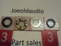 BSR C123R1-B-2 Turntable Spindle Bearings. Tested. Parting Out Entire C123R1-B-2