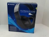 Sony Platinum 3001566 Over Ear Wireless Gaming Headset for PlayStation 4