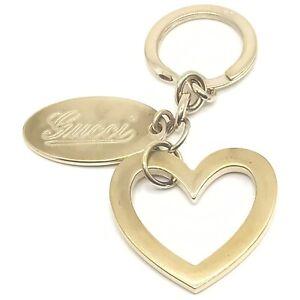 Gucci Key Ring  Heart Motif Gold   1411641