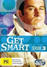 Get Smart : Season 3 (DVD, 2008, 5-Disc Set)