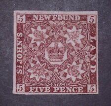Newfoundland Stamp #12a MH