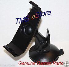 Genuine Garmin Nuvi 500 550 GPS Suction Cup Mount & Cradle Bracket Clip Holder