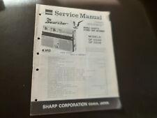 Original Service Manual Schaltplan  Sharp GF-555H/E