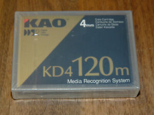 KAO KD4-120M Data Cartridge 4mm DDS2 neu in Folie