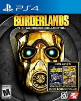 PLAYSTATION 4 PS4 GAME BORDERLANDS HANDSOME COLLECTION BRAND NEW AND SEALED