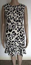 Polyester Animal Print Sleeveless NEXT Dresses for Women