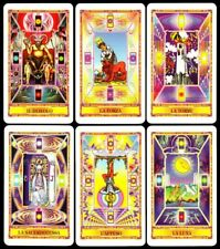 NEU! 1997 Diamond Tarot Deck im Stil des Raider Waite 78 Tarotkarten Bergoint