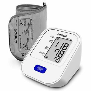 Omron HEM-7120 Bp Monitor  (White) Pressure Monitor With Intellisense Free Ship