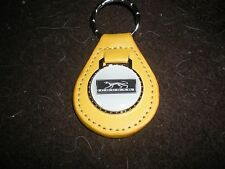 1967 1968 1969 1970 MERCURY COUGAR CAT EMBLEM PLAQUE KEYCHAIN KEYRING NEW YELLOW