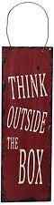 "12"" Tall Metal Antique Wisdom Sign Inspiration Metal Wall Hanging Art Decor New"