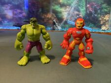 "Playskool Heroes Hulk And Iron Man 5"" Figures"
