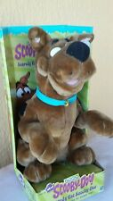 talking SCOOBY DOO STUFFED PLUSH TALKING Scaredy Cat 2001  Cartoon Network