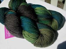 Sweet Georgia Trinity Knitting Yarn, Superwash Merino, Cashmere, Silk 115g/182m