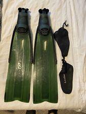 SPORASUB Spitfire Kelp Fins Size 45/46 11-12 Men's