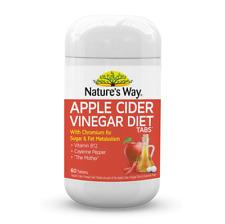 Nature's Way Apple Cider Vinegar Diet 60 Tablets