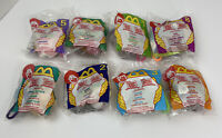 1999 McDonald's Winnie The Pooh Happy Meal Plush Clip Key Chain COMPLETE Sealed!