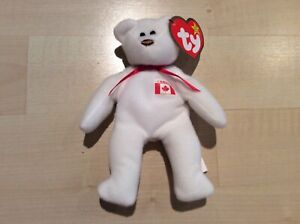 McDonald's TY TEENIE BEANIE BABIES MAPLE THE BEAR