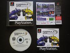 FORMULA ONE 2000 : JEU Sony PLAYSTATION PS1 PS2 (courses auto F1 COMPLET suivi)