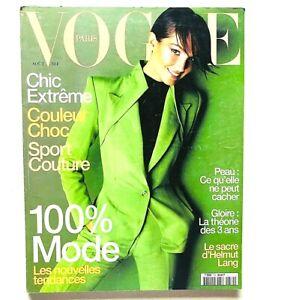 Vogue Paris Francia aout agosto 1997 Chandra North Jeanne Balibar Helmut Lang