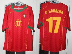 Portugal 2004 2005 2006 Cristiano Ronaldo Nike Homes Shirt Jersey Trikot Kit