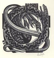 Ex Libris Lou Strik : Opus 202, P.Z.