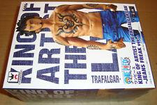 ONE PIECE KING OF ARTIST FIGURE THE TRAFALGAR LAW JEANS FREAK BLUE BANPRESTO