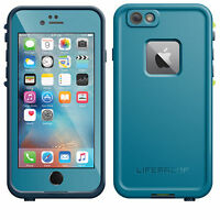 Genuine NEW 2016 Lifeproof iPhone 6S Fre Frē waterproof cover case Banzai Blue