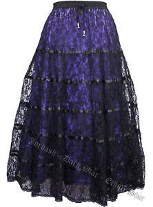 Dark Star Skirt Purple Size 14
