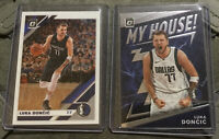 2019-20 Optic LUKA DONCIC MY HOUSE #1 + Base #16 LOT Mavericks