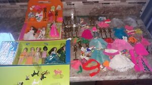 Vintage Topper Dawn Doll Collection ~ 10 Dolls, Clothes , Accessories , Cases