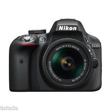 "NIKON D3300 Nero Kit 18-55mm VR AF-P Sensore CMOS DX 24Mpx 3"" Full HD"