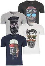 JACK & JONES Herren-T-Shirts mit V-Ausschnitt
