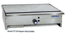 Imperial Range Ity 36 36 Stainless Teppan Yaki Gas Griddle With 1 Burner