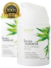 InstaNatural Eye Gel Cream Wrinkle Dark Circle Fine Line Redness Reduc Puffiness