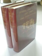 Sven Hedin - Central Asia and Tibet - 2 Volumes - 1st UK Edition