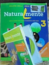 NATURALMENTE VOL.3 con Cd PER MEDIE - G.ANELLI A.SCARLETTI - BRUNO MONDADORI
