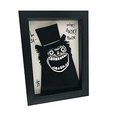 The Babadook 3D Art Horror Poster Print Scary Art Children's Book Pop Artwork