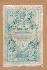 AUSTRIA 1 GULDEN 1888    (No - 9)   RARE !!!