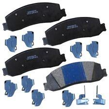 Disc Brake Pad Set-Stop Semi-Metallic Brake Pad Front,Rear Bendix SBM1631A