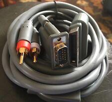 HD HDTV AV VGA Video Optical RCA Audio Cable Cord Wire for Microsoft Xbox 360
