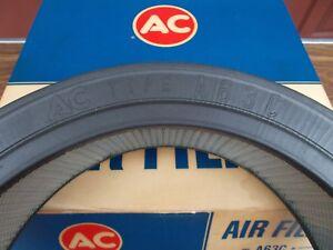 59 60 61 62 63 64 Pontiac NOS AC GM A63C Air Filter Bias Cut Moulded Digits RARE