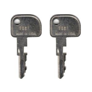 IBM 9961 Key Register - Cash Drawer Key Set - Set of 2 Replacement Keys