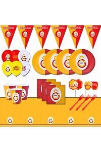 Galatasaray Taraftar 16 Kişilik Doğum Günü Parti Seti