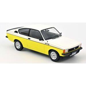 Opel Kadett GT/E 1977 White & Yellow 1/18 - 183650 NOREV