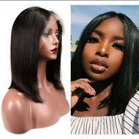 Pre Plucked Remy Human Hair Wig Lace Front Wig Brazilian Glueless Full Lace Wigs