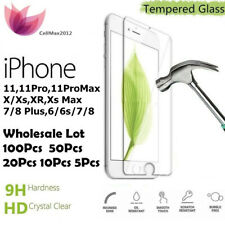iPhone 11 / 11 Pro Max Screen Protector Wholesale 5x 10x 50x 100x Tempered Glass